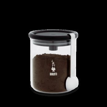 Afbeeldingen van Bialetti barattolo koffiebewaardoos glas 250gr